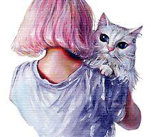 Pink Cuddles by tanyashatseva
