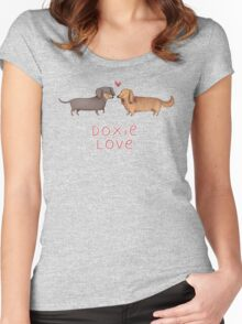 Doxie Love Women's Fitted Scoop T-Shirt