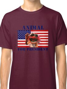 Animal for President Classic T-Shirt