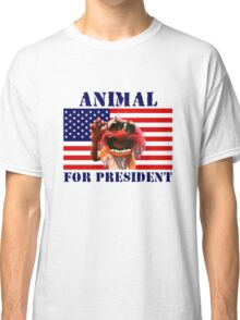 Animal for President Classic T-Shirt