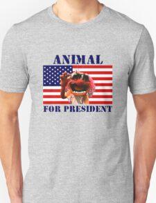Animal for President Unisex T-Shirt