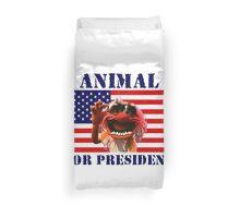 Animal for President Duvet Cover