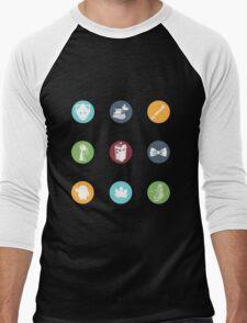 Doctor Who Items Men's Baseball ¾ T-Shirt
