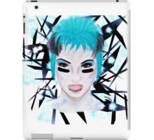 Football Make-up Girl iPad Case/Skin
