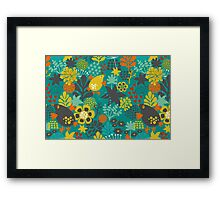 Summer romance. Framed Print