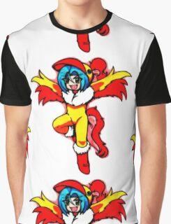 Flaming Moltres Graphic T-Shirt