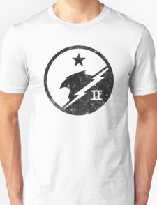 Blue Team Distressed Unisex T-Shirt