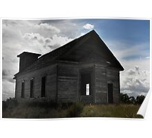 Old School house New Mexico Poster