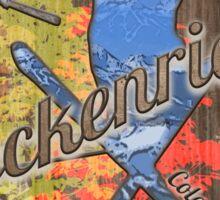 Breckenridge Colorado fall winter shield Sticker