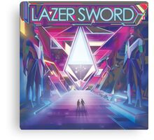 lazer sword Canvas Print