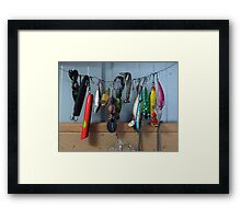 Past use by date Framed Print