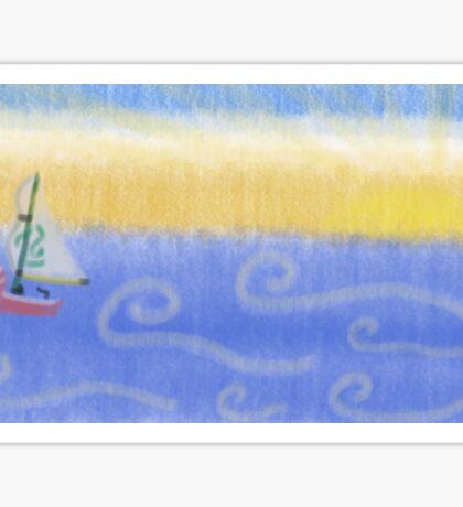 Lonesome Sea King Sticker