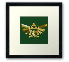 The Golden Power (Green) Framed Print