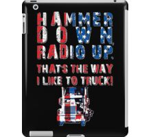 Hammer Down (PATRIOT EDITION!) iPad Case/Skin