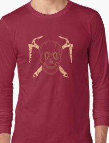 Skull and Cross Axes Long Sleeve T-Shirt
