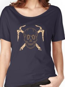 Skull and Cross Axes Women's Relaxed Fit T-Shirt