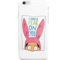 Louise Belcher: I Smell Fear on You (animated print) iPhone Case/Skin