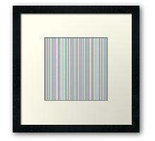 Design Seven Framed Print