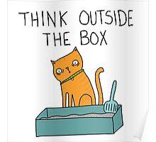 Creative Cat Poster