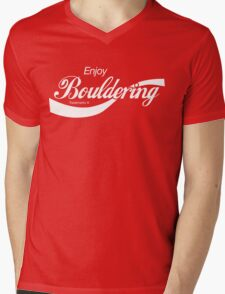Enjoy Bouldering Mens V-Neck T-Shirt