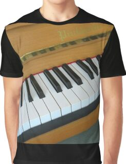 Piano Notes Graphic T-Shirt