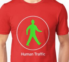 Human Traffic red Unisex T-Shirt