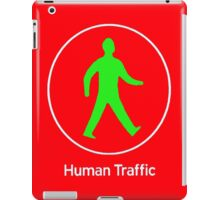 Human Traffic red iPad Case/Skin