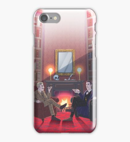 Discussion at 221B iPhone Case/Skin