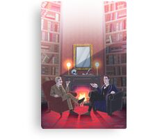 Discussion at 221B Canvas Print