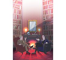 Discussion at 221B Photographic Print