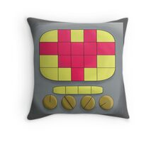 Undertale- Mettaton Heart  Throw Pillow