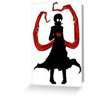 Kaneki Red Greeting Card