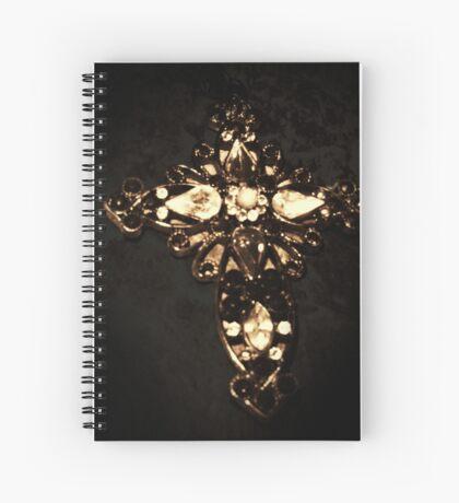 Crucifix  Spiral Notebook