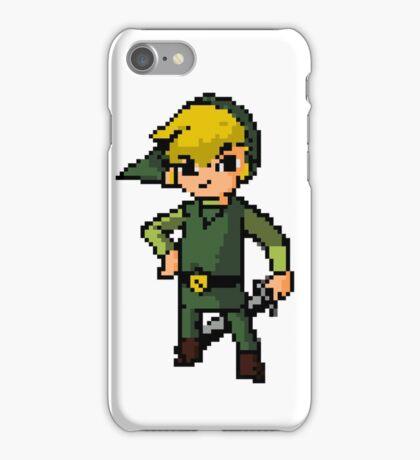 Pixel Toon Link iPhone Case/Skin