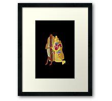 (✿◠‿◠) HOT DOG! WE GO TOGETHER EVERLASTING LOVE VARIOUS APPAREL (✿◠‿◠) Framed Print
