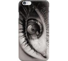 the eye as a lens iPhone Case/Skin