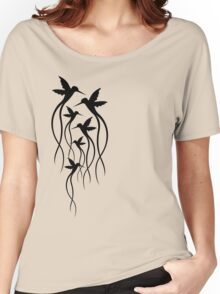 Humming Birds Women's Relaxed Fit T-Shirt