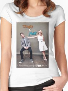 Tingly & Moist: The Merchandise Women's Fitted Scoop T-Shirt