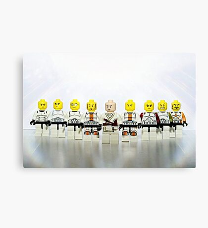 Lego Stormtroopers Canvas Print
