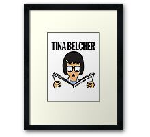 Tina Belcher: Everything Butts (colour print) Framed Print