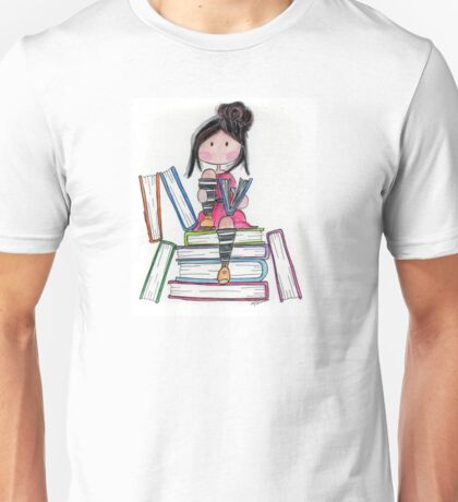 Sitting on a To Be Read list... Unisex T-Shirt