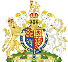 Royal Coat of Arms for the United Kingdom by TheViper