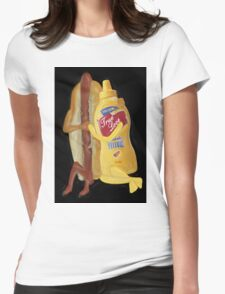 (✿◠‿◠) HOT DOG! WE GO TOGETHER EVERLASTING LOVE VARIOUS APPARE(✿◠‿◠) Womens Fitted T-Shirt