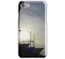 Boats At Dusk iPhone Case/Skin