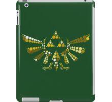 Triforce Dots (Green) iPad Case/Skin