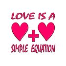 Love is a Simple Equation  by scholara