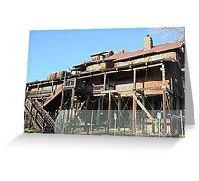 Rusty Duck Restaurant and Saloon, Closed Greeting Card