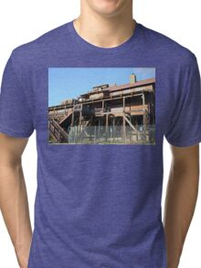 Rusty Duck Restaurant and Saloon, Closed Tri-blend T-Shirt