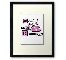 Great Chemistry Framed Print