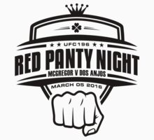 McGregor V Dos Anjos Red Panty Night by TypeTees